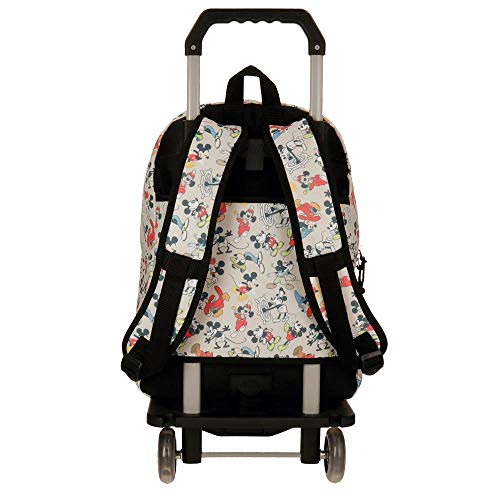 Mickey True Original Backpack, 42 cm with Trolley