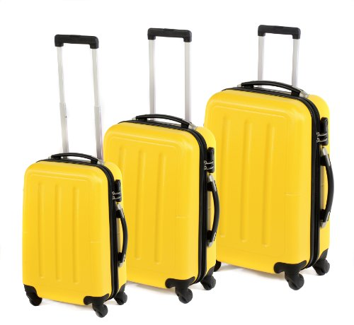 Ultimate Products Ltd Set di valigie, Fashion Case, giallo - giallo, LG00339YLTRMIL