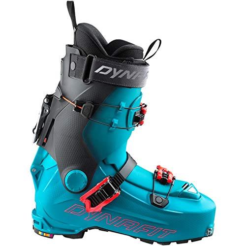 DYNAFIT W Hoji PX Blau-Schwarz, Damen Touren-Skischuh, Größe EU 38 - Farbe Malta - Hibiscus