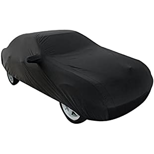uxcell 3XL 4.9M 190T Black Stormproof Breathable Outdoor Indoor Car Cover:Cnsrd