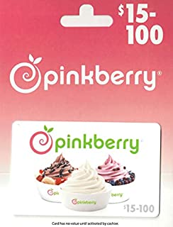 pinkberry gift card
