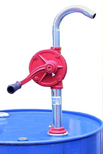 Kurbelfasspumpe Kurbelpumpe Handpumpe Fasspumpe Dieselpumpe Ölpumpe aus Gusseisen