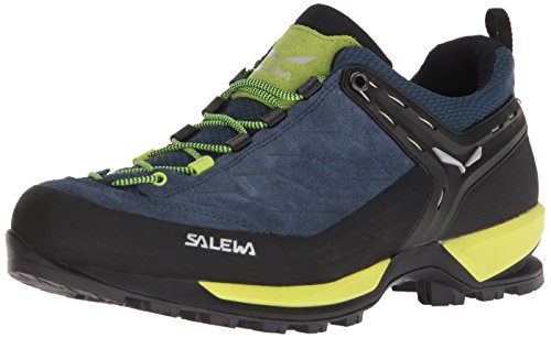 Salewa Herren MS Mountain Trainer Trekking-& Wanderstiefel, Poseidon/Sulphur Spring, 42 EU