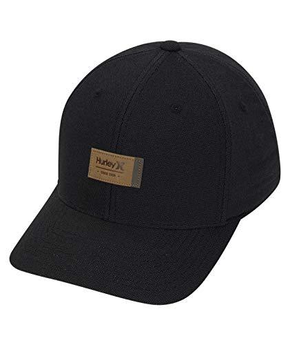 Hurley M Dri-Fit Pier Hat Gorra, Hombre, Black, S/M