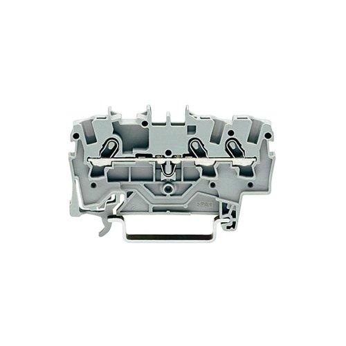 Wago 3-Leiter Durchgangsklemme 1,5 qmm, 2001-1301