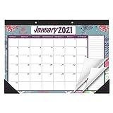STOBOK 2021 Wandkalender | Kalender Monatskalender Schreibtischkalender große Monatsseiten,43 x 30,5cm Tageskalender,Tischkalender Hängeplaner,2 Jahre Läufe,ab sofort bis Dezember 2021