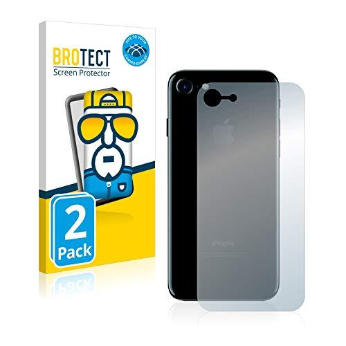 brotect Pellicola Copertura Completa Compatibile con Apple iPhone 7/8 / SE 2 2020 Posteriore (Intera Superficie) (2 Pezzi) Full-Cover 3D Curvo