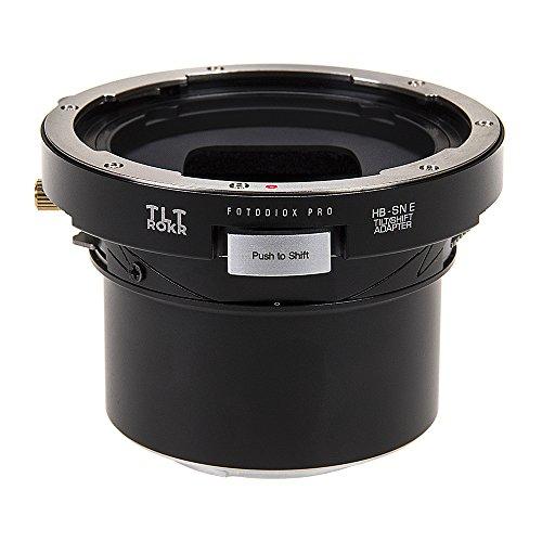 Fotodiox Pro TLT ROKR - Adaptador de Montaje para Lente de inclinación y Cambio Compatible con Lentes de Montaje en V Hasselblad para cámaras Sony con Montura E
