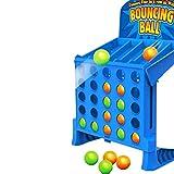 Bouncing Linking Shots Educational Toys 4 gewinnt Action, temporeiches Kinderspie Für Kinder - EIN lustiges Vorschul-Brettspiel - Besonderes Geschenk für Kinder