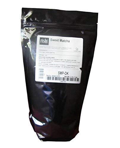 Rishi Tea Sweet Matcha Japanese Green Herbal Tea Powder   Immune Support, Naturally Sweet, Detox, Antioxidants, Energy-Boosting   2.2 lb, Makes 250 Cups