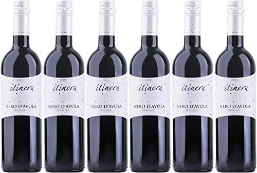 6x Nero d\'Avola Sicilia 2017 - Itinera - Mondo del Vino, Calabria - Rotwein