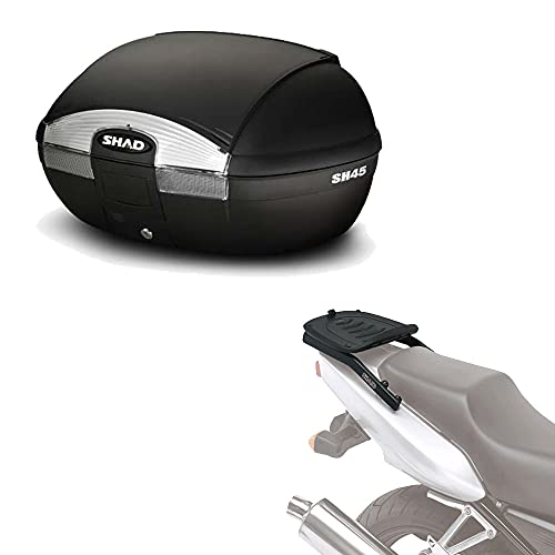 Sh45he145 - Kit fijacion y Maleta baul Trasero sh45 Compatible con Honda CBR 600f 2001-2008