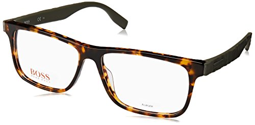 BOSS Orange BO 0298 PHW 54 Gafas de sol, Verde (Havana Green), Hombre