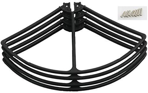 for Promark VR Virtual Reality, Warrior, CW-70 Drones Propeller Guards (Black)