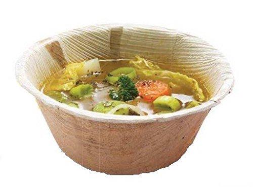 25 Suppenschalen rund Palme, Durchmesser 14, 2 cm - 500 ml