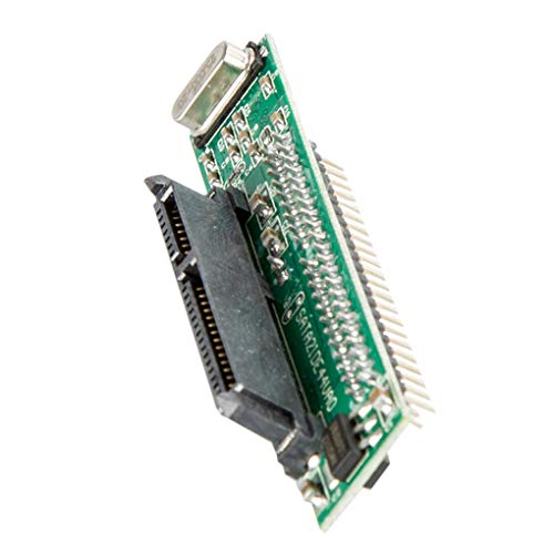 Yihaifu 2.5 '' 7 + 15Pin SATA a IDE Adaptador de Disco Duro SSD de 44 Pin IDE convertidor portátil 44 Pin IDE Hard Disk convertidor