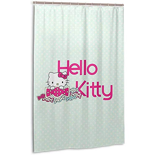Searster$ Shower Curtain Tende da Doccia,Fashion Hello,Tenda da Bagno Stampata Kitty,72X72 Pollici