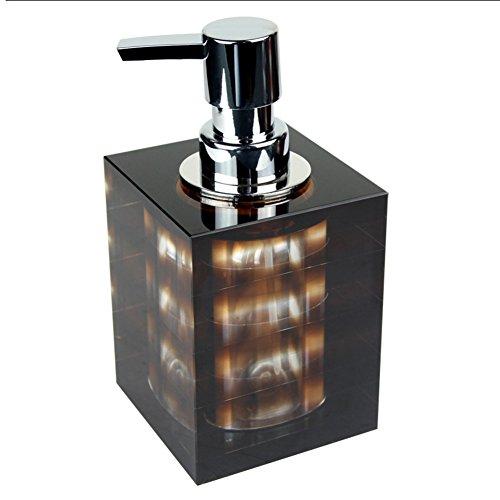 Manueller soap-dispenser,Badezimmer,Dusche dispenser,Drücken sie die flasche seife Hotel Home Dusche gel shampooflasche Waschbecken zubehör Gel-duschkabine-schwarz