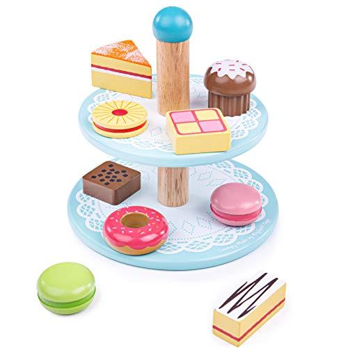 Bigjigs Toys- Tartjes - Bandeja para Tartas (BJ621)