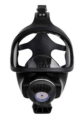 MSA-volgelaatsmasker 3S L gasmasker voor gebruik, Standardgröße, Maskenkörper aus Gummi, zwart, 1