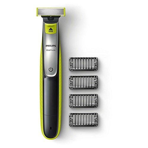 Rifinitore per barba Philips qp2530/20OneBlade, 4pettini, ricaricabile, Wet & Dry