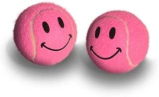 Pre-cut Walker Glide Balls - 15 Colors & Styles (Smiley - Pink)