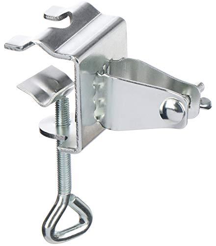 com-four® Sonnenschirmhalter, Schirmständer für Balkon, Terrasse oder Tisch - Für Schirmstöcke 22-28 mm und Plattenstärken bis 35 mm (01 Stück - Balkon-Schirmhalter)