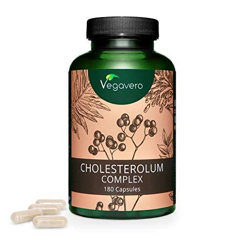 RISO ROSSO Vegavero® | 180 capsule (2 mesi) | 10 mg di Monacolina K per il COLESTEROLO* | con Fitosteroli, Biancospino, Berberina e Carciofo | Vegan