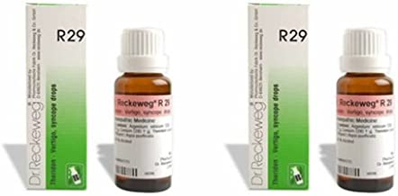 2 Lots X Dr.Reckeweg R 29 22Ml Homeopathic Medicine