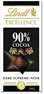 Tableta de chocolate negro Lindt Excellence 90% Cacao - 100