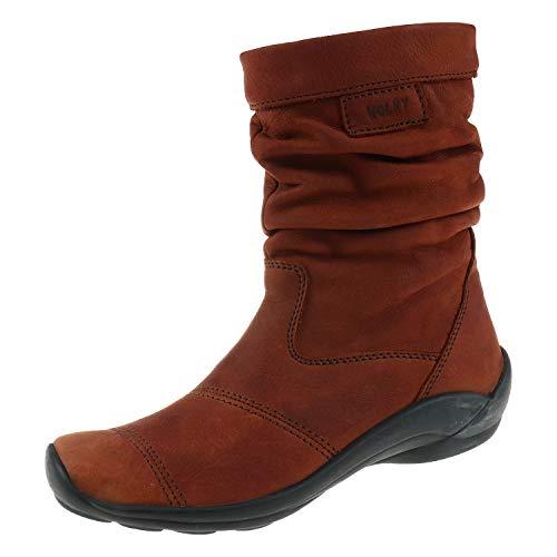 Wolky damesschoenen laarzen Jacky Cognac 1658543