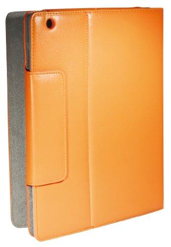 My Wall HI5L, 20 jaar garantie, etui en standaard voor Apple iPad 2 oranje/grijs
