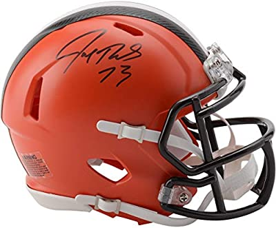 Joe Thomas Cleveland Browns Autographed Riddell Speed Mini Helmet - Fanatics Authentic Certified - Autographed NFL Mini Helmets