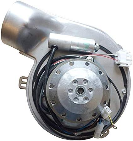 Extractor de humos EBM G2E150-DN91-12 para estufa de pellets completo de Encoder