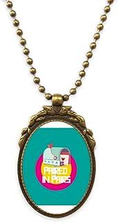 Women Goddess Lover Gentle Antique Necklace Vintage Bead Pendant Keychain