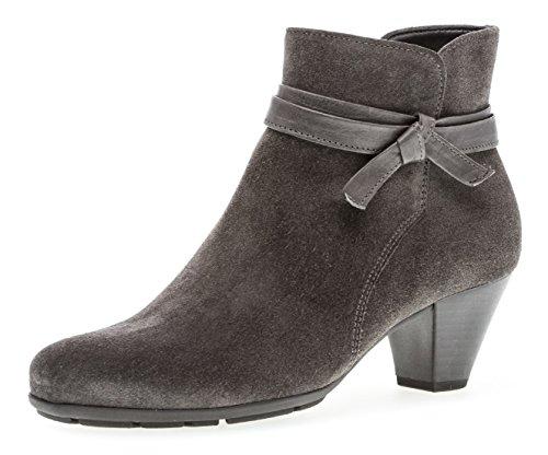 Gabor Damen Ankle Boots 95.642,Frauen Stiefel,Ankle Boot,Halbstiefel,Damenstiefelette,Bootie,knöchelhoch,Blockabsatz 5cm,F Weite (Normal),Pepper,UK 5