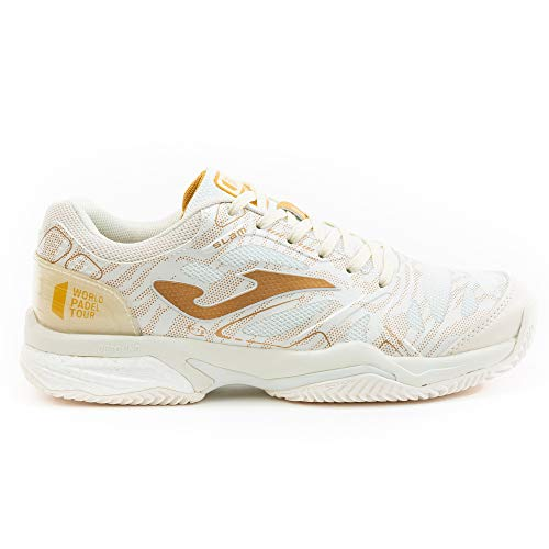 Joma Zapatillas Slam 2025 Beige-Gold WPT Clay (38)