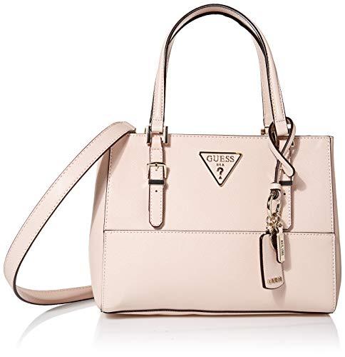 Guess Women's Carys Satchel Bag, Blush, One Size