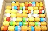 Kinder Überraschung 50 Stück Bunte Ü-Ei Kapseln (Ü-Eier Kapsel von Ferrero)