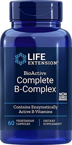 Life Extension, Complete B-Complex ( Complejo B Completo Bioactivo ), 60 Cápsulas vegetarianas