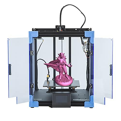 Creealidad Enter-6 Impresora 3d Marco De Metal All-metal Máquina Todo En Uno Diy Fdm Impresoras 3d Kit Con Calefacción Rápida Cristal De Carbono Plataforma De Vidrio De Silicona Función De Impresión F