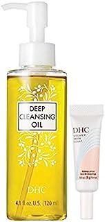 DHC Must Haves, Deep Cleansing Oil, 4.1 oz. & Velvet Skin Coat Mini, 0.18 oz.