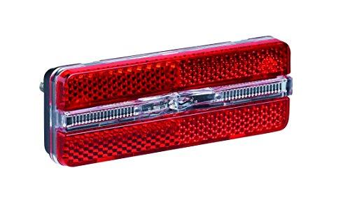 Büchel Gepäckträgerrücklicht LED Sunset Strip, Standlichtfunktion, schwarz, 50660