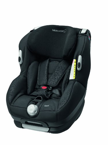 Bébé Confort Opal - Silla de coche grupo 0+/1, desde 0 hasta 18 kg, color negro