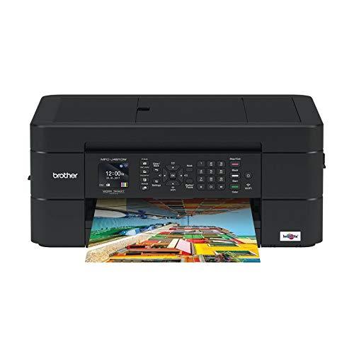 Brother MFCJ491DW Stampante Multifunzione Inkjet a Colori A4 con Connettività per Dispositivi Mobili e Wireless, Alimentatore Automatico e Display LCD da 4.5 cm 6000 x 1200 dpi, Nero