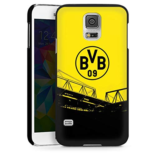 DeinDesign Hard Case kompatibel mit Samsung Galaxy S5 Schutzhülle schwarz Smartphone Backcover Borussia Dortmund BVB Fanartikel