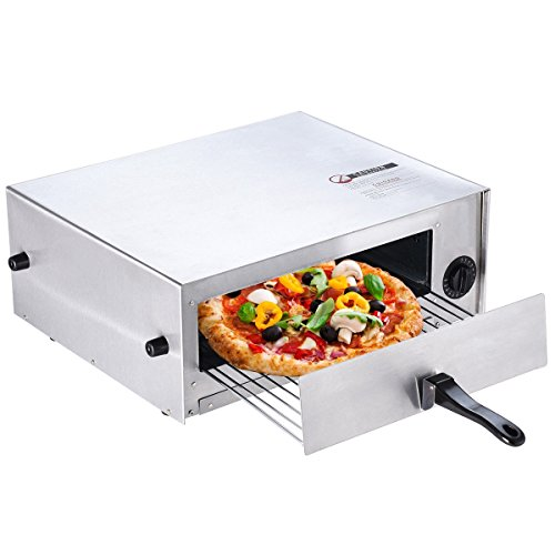 Home Kitchen Pizza Oven Stainless Steel Counter Top Snack Pan Bake Commercial