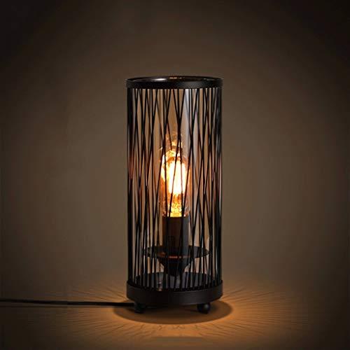 * Tafellamp van glasvezel, retro persoonlijkheid, industriële windlamp, eenvoudige creatieve tafellamp, tafellamp, tafellamp, tafellamp, tafellamp, tafellamp, tafellamp, tafellamp, kleur: