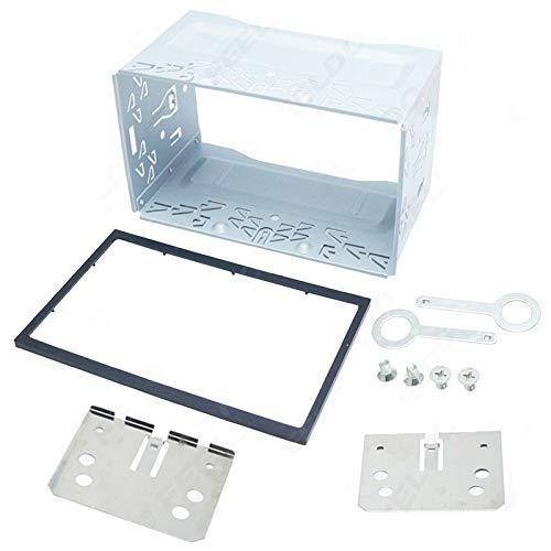 Marco de montaje Unidad de Radio Reproductor de 2Din Accesorios Kit de Radio Head general 2Din Accesorios Kit de Automoción interruptor del coche