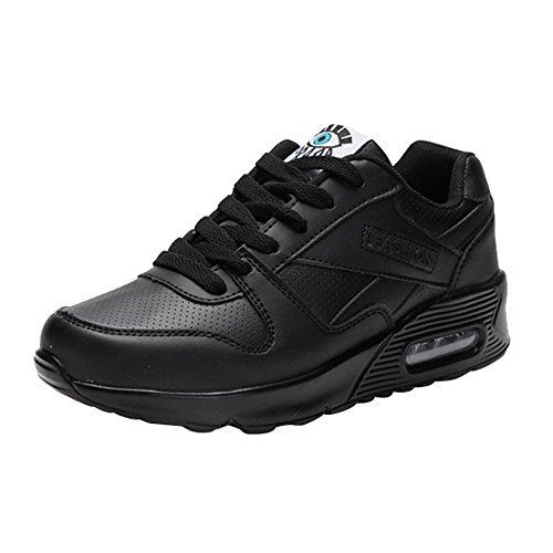 Zapatillas de Deporte Senderismo de Mujer y Chica,Sonnena Zapatillas de Atletismo Moda Zapatos Casuals Zapatos para Caminar al Aire Libre Flats Lace Up Ladies Shoes